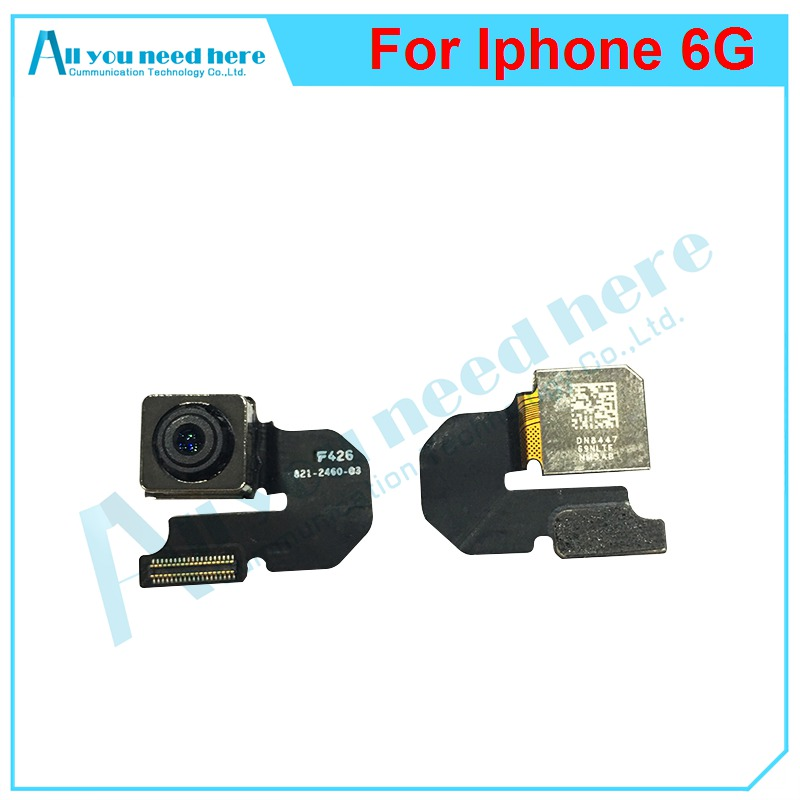 IP0036 100% Tested For iPhone 6 6G Original Rear Back Big Camera Module Small Front Camera Flex Cable Replacement parts For iPhone 6 6G 4 (2)