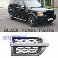 high quality SVSPS Car styling Auto Parts ABS Tuning side air vents grille For Land Rover Discovery 3 on fender 2005 2009 year