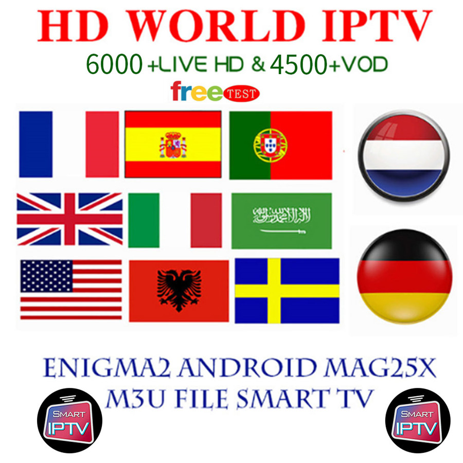 Spain IPTV Spanish Channel M3u Abonnement Iptv UK Italy Spaans Drance Germany Portugal Voor Android Box Enigma2 M3u HD Smart TV