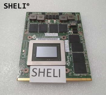 SHELI CN-0RDJT7 0RDJT7 RDJT7 For Dell M6600 N v i d i a 3000m 2GB Gddr5 Video Graphics Card