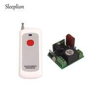Sleeplion交流220ボルト1chワイヤレスリモートコントロールスイッチシステム3レシーバー3キーリモート315 mhz/433 mhz