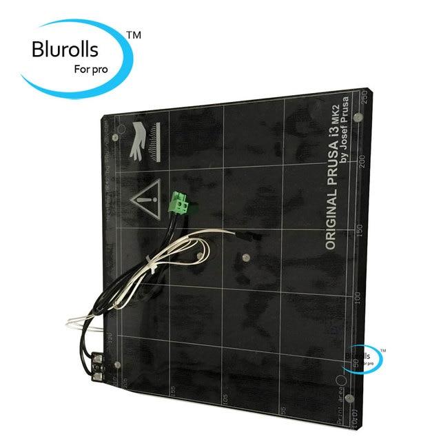 Reprap Prusa I3 MK2 MK2S 3d Printer Heated Bed With PEI Tape, Aluminum  Alloy Clone