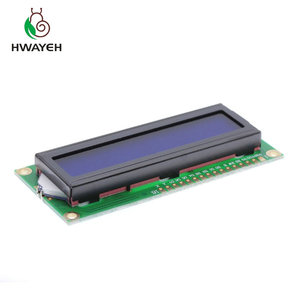 Image 3 - 10 stks Nieuwe LCD 1602 LCD1602 5 v 16x2 Karakter LCD Display Module Controller blauw blacklight voor arduino