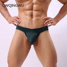 Brand Mens Briefs Underwear Bikini Low Waist Sexy Men Underpants Nylon High Quality Fashion Male Panties Gay