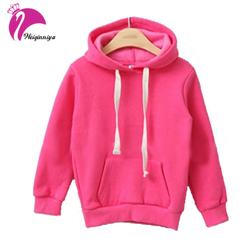 New 2017 Children Kids Girls Boys Hoodie Coats Autumn Winter Long Sleeve Jackets Children's Outwear Sweatshirts Kids Clothing