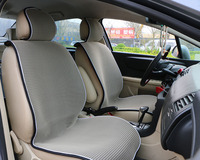 1 Piece Breathable Mesh Ice Silk Car Front Seat Cover Pad Fit Most Cars Summer Cool Seat Cushion Luxurious Simple Universal Size