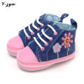 Baby Girls Shoes Breathable Baby Shoes Soft Bottom Spring Autumn Baby First Walkers Walking Boots Girls Infant Shoes GZ079