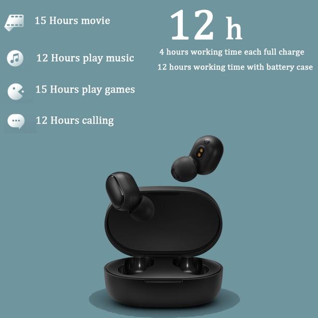 xiaomi airdots s tws Redmi Airdots TWS Wireless earphone Voice control Bluetooth 5.0 Noise reduction Tap Control 3