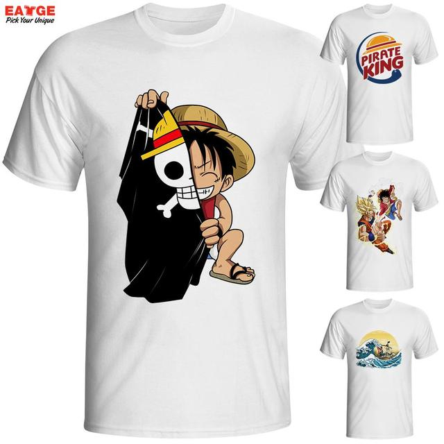 Brand t shirt men t shirt funny luffy t shirts clothing for Branded t shirts names