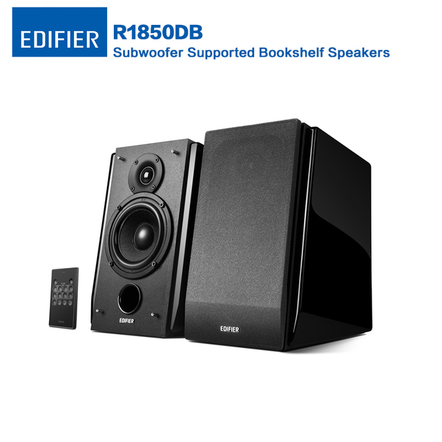 Edifier R1850DB Subwoofer Supported Bookshelf Speakers Bluetooth 40 Multifunctional Computer With 4 Bass Driver