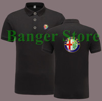 Alfa Romeo 4S Shop POLO Shirt Short Sleeve Overalls Work Clothes For Men And Women