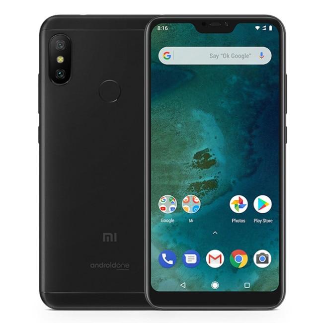XIAOMI MI A2 LITE 4 GB RAM 64 GB ROM Snapdragon 625 2.0 GHz Octa Core 5.84 pouces 2.5D FHD + plein écran Android 8.1 4G LTE Smartphone