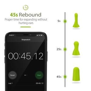 Image 3 - Mpow tapones para los oídos de espuma HP055, 60 pares, bloqueador de ruido/filtro, Protector auditivo, NRR, 32dB, reducción de ruido con Estuche de transporte para dormir