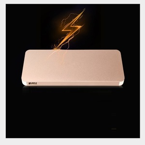Image 5 - New Brand Ultrathin 12000 MAh Portable USB Battery Charger Power Bank for Iphone Smart Cell Phones Includes A Charging Cable
