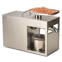VOSOCO Oil presser peanut maker rapeseed olive Pistachio pecan almond Stainless stee oil press machine oil mill 220V 110V 1500W