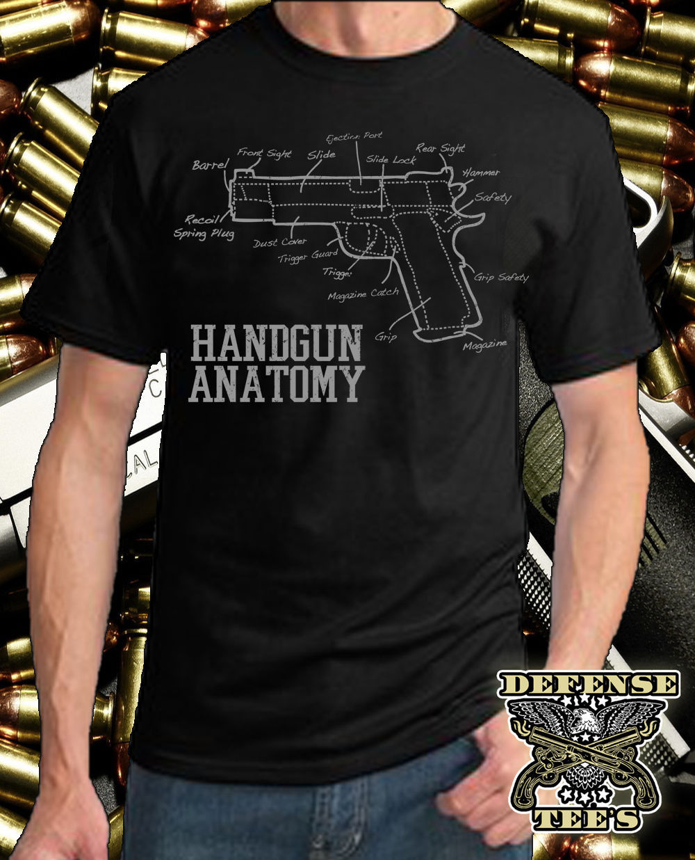 2019 Newest 100% Cotton Brand New T-Shirts Pistol Shirt Nra T-Shirt 2Nd Amendment Come For Mine Bring Yours Handgun T-Shirt image