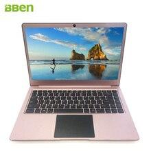 Bben 14.1 дюймовым Windows портативных компьютеров 4 ГБ DDR3 памяти, 64 ГБ EMMC Wi-Fi FHD HDMI четыре ядра Intel N3450 Процессор с Type-C порт