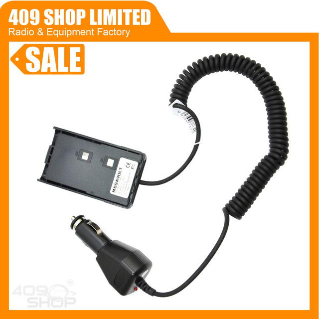 E-DC2B FD Two-way Radio Car Battery Eliminator for FD-150A FD-160A FD-450A FD-460A