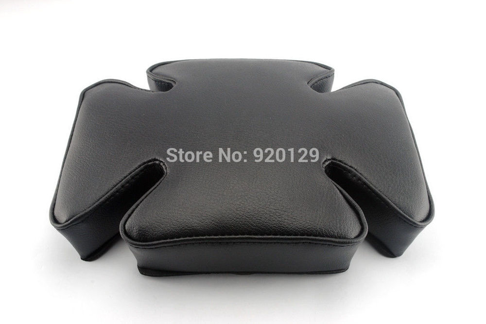 Motorcycle parts Portable Rear Suction Cup Passenger Seat Pillion Pad For Harley-Davidson Chopper