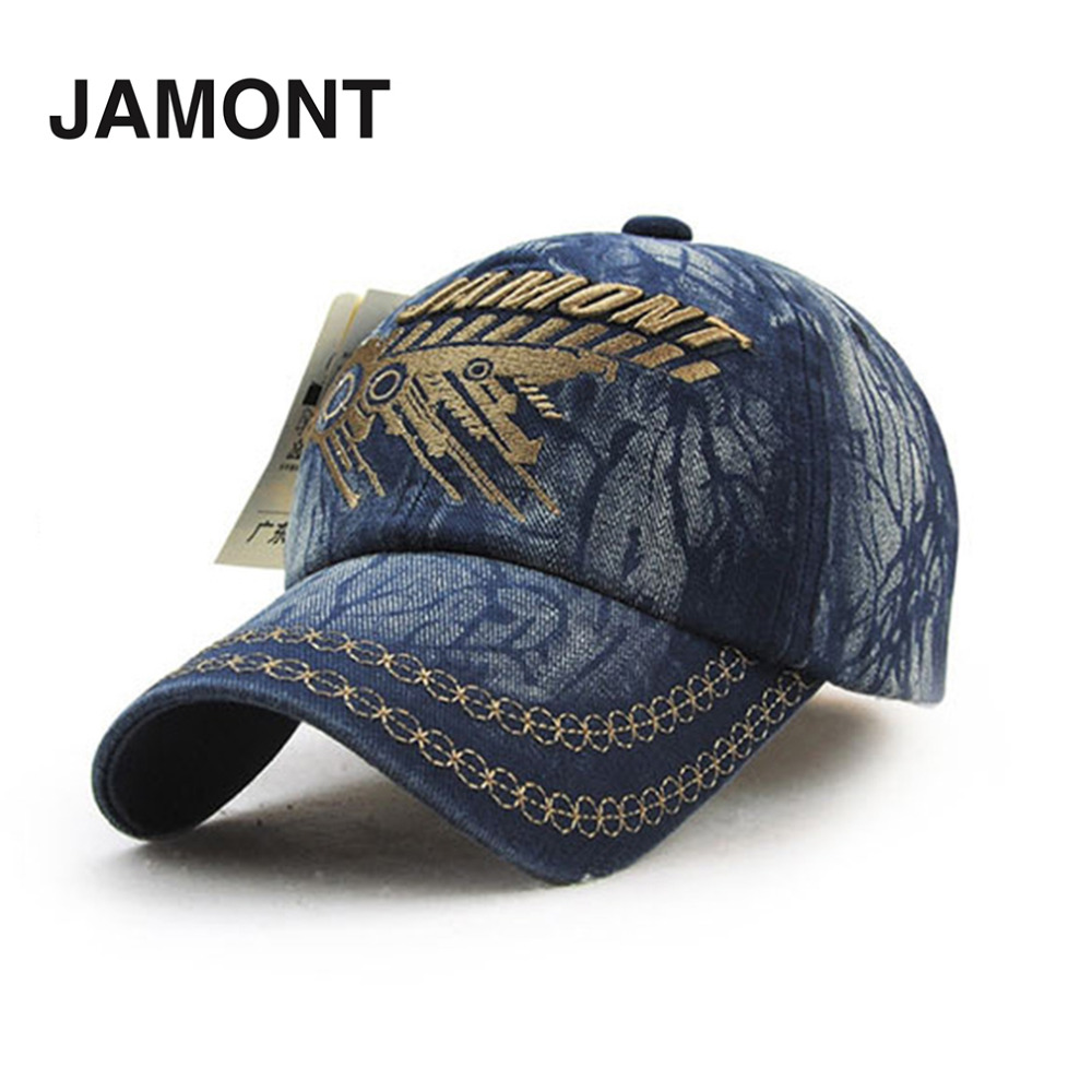 JAMONT Full Cotton Unisex Men Women Baseball Caps Trendy Letter Embroidery Style Adjustable Baseball Caps Hats For Adult 2017 цена и фото