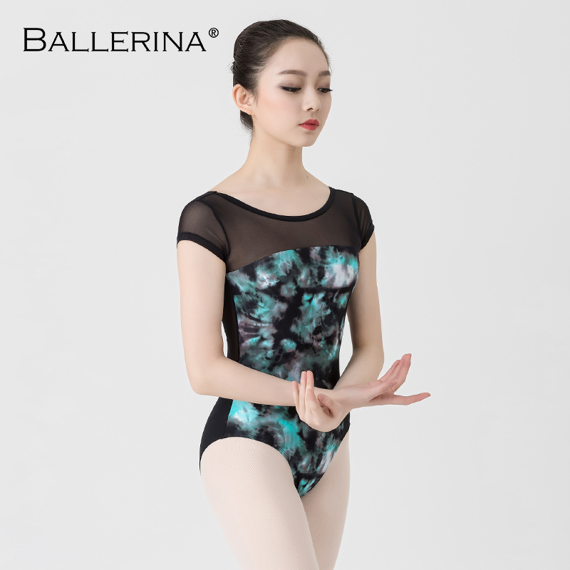 Image 3 - Ballet Leotards For Women Yoga Sexy Dance Professional training gymnastics Digital printing Leotards Ballerina 3570-in Ballet from Novelty & Special Use
