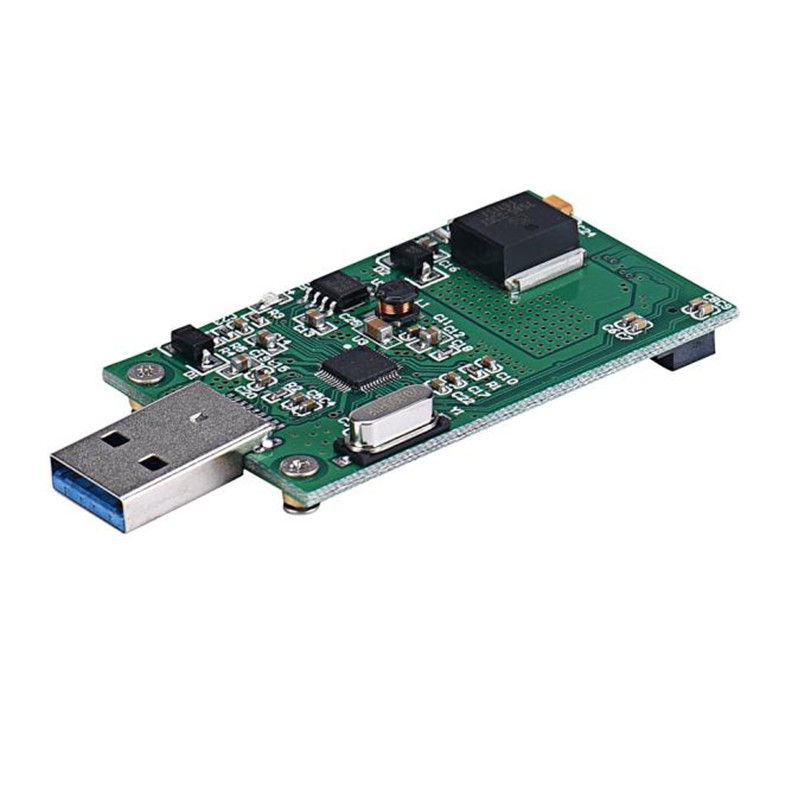 Hot Selling Mini PCI-E mSATA To USB 3.0 External SSD Conveter Adapter Card Board Dec25 cy u3 179 bk 50mm mini pci e msata 6gbps solid state ssd to usb 3 0 hard disk enclosure black