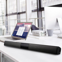 Wireless Bluetooth Soundbar Stereo Speaker TV Home Theater TF USB Sound Bar(Black)