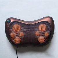 Home Car Multifunction Dual Use Dish Massager Car Massage Pillow Cervical Lumbar Leg Massager Infrared Heating