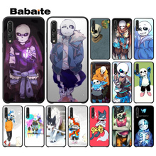 Babaite unny undertale papyrus sans doggo TPU Soft Silicone Black Phone Case for Huawei Mate10 Lite P20 Pro P9 P10 Plus View 10