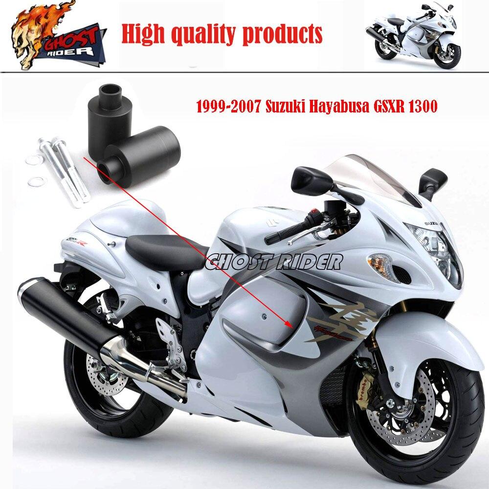 Aftermarket free shipping motorcycle parts no cut frame slider crash protector for suzuki hayabusa gsxr 1300