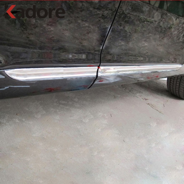 Toyota Sequoia Chrome Body Side Molding 2008: For Toyota Highlander 2007 2010 ABS Chrome Side Door Body