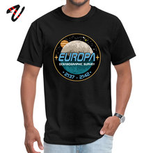Europa Mens Tshirt Ocean graphic Survey T Shirt Mother Day Casual Tops Tees Plaid 2019 New Fashion Megumin Tee-Shirt For Man