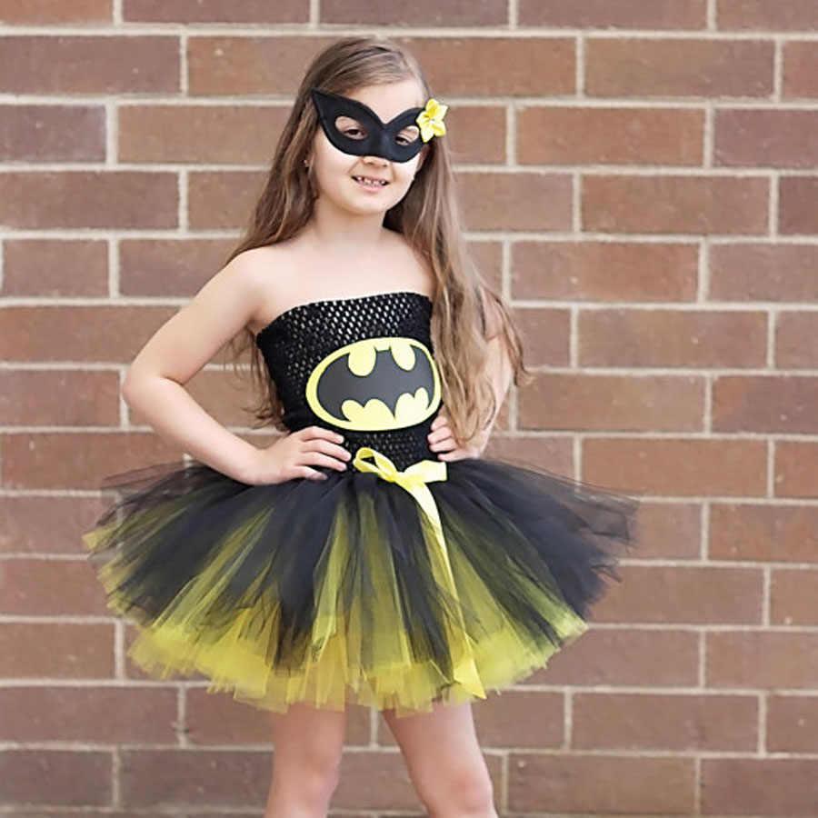 390810538 Batman niños niñas tutú vestido superhéroe Halloween Navidad ...