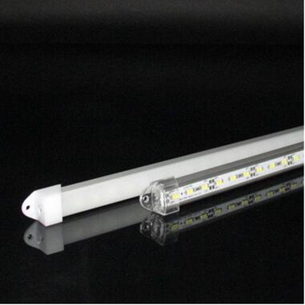 5pcs/lot  LED Bar Light 50cm DC12V 5730 5630 36leds Cabinet Light With PC Cover LED Hard Rigid Strip Bar Light