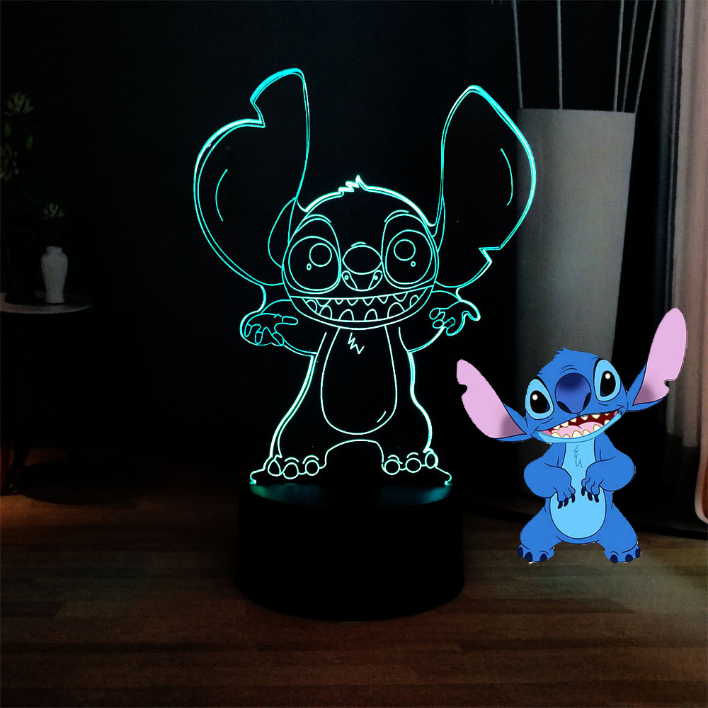 Cute Elephant Shaped Led 7 Color Changing Lamp Night Bedroom Home Decor Gift Diversified Latest Designs Lights & Lighting