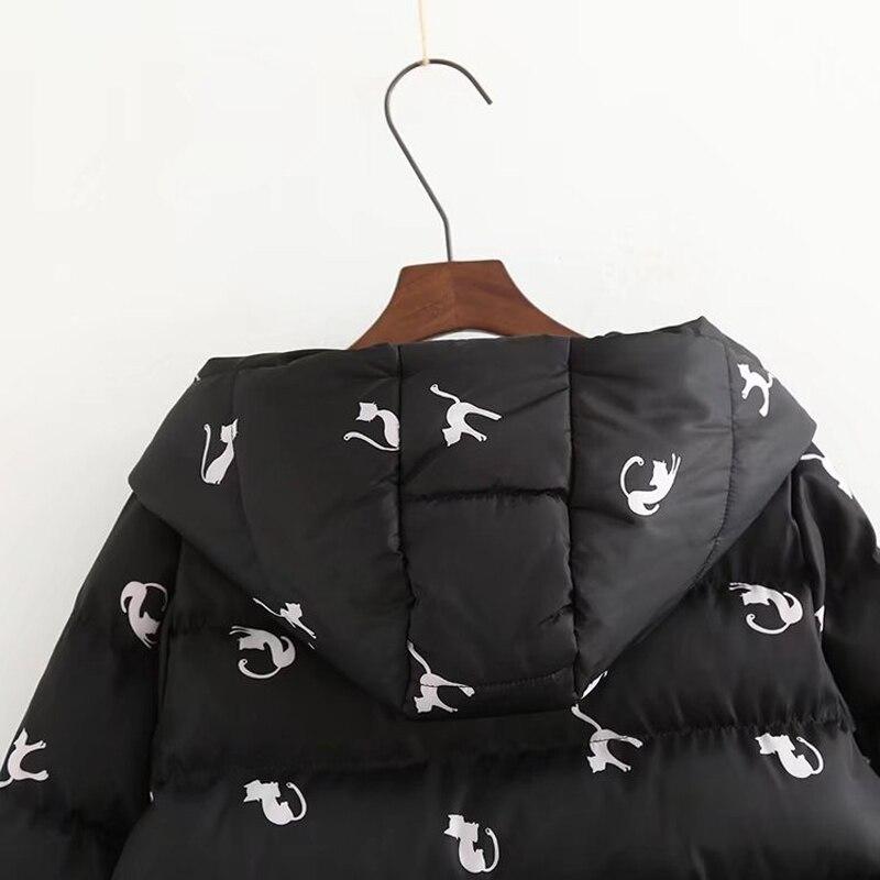 White Hiver À Surdimensionné Rembourré 2018 black Chaude Manteau Épaississent Survêtement Femmes Dames Coton Parka Manches Veste Longues ZRxxvdqw