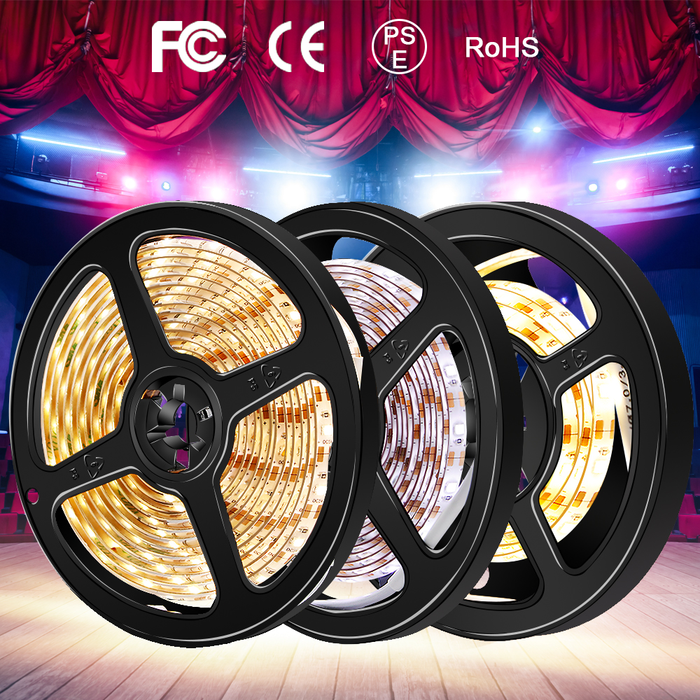 PIR Led Wall Lamp Strip Motion Sensor Light Tape Flexible Led Tube SMD2835 Dimmable Mirror Stairs TV Backlight Home Decor Light in LED Indoor Wall Lamps from Lights Lighting