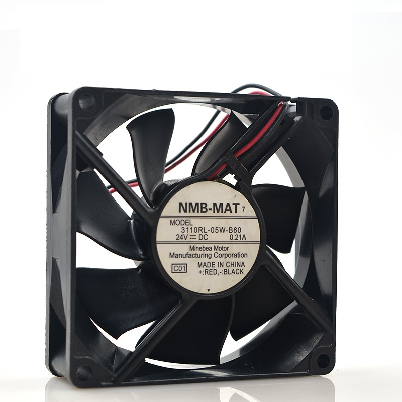 New Original 3110RL-05W-B60 24V 2PIN 0.21A 8025 8CM Inverter Double Ball Mute Fan