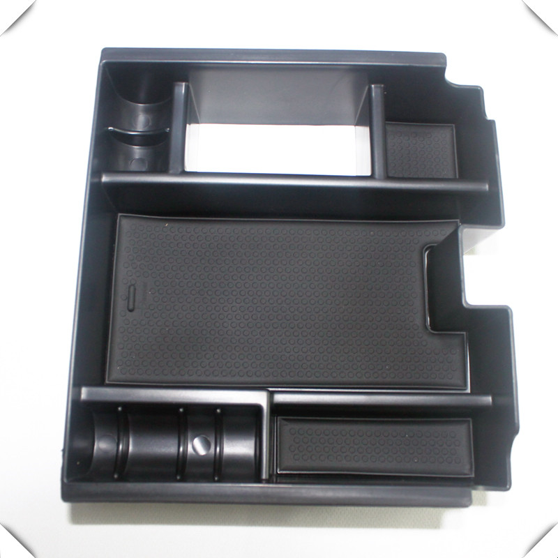 For Jaguar XF 2010-2015 Interior Armrest Storage Box Organizer Holder