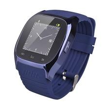 Smartwatch M26 Bluetooth smart uhr Android Stoßfest wasserdichte handy Armbanduhr Intelligente uhren elektronische geräte