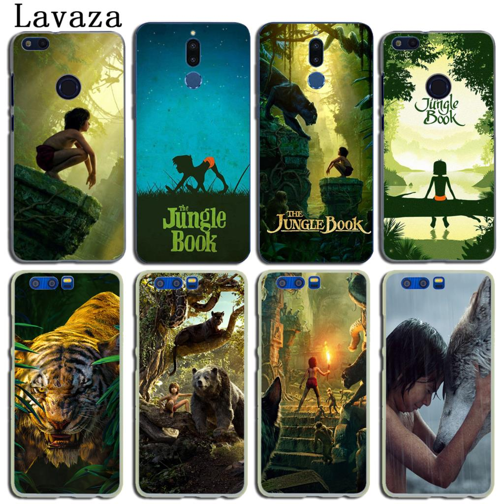 Lavaza The Jungle Book Hard Phone Case for Huawei Y6 Y5 Y3 II Y7 2017 Nova 2 Plus 2S 2i & Honor 9 8 Lite 7 7X 6 6A 6X Cover
