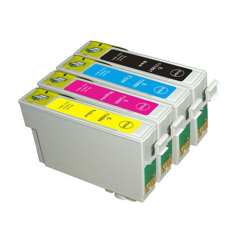 T0711 t0712 t0713 t0714 tintenpatrone für epson stylus d78 D92 D120 SX210...
