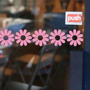 D168 small flower waistline glass decoration waistline doors and windows mirror furniture laciness wall stickers decoration