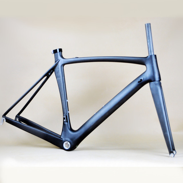 Full Carbon T800 AERO Road Bike Frame 700C Bicycle Frameset With ...