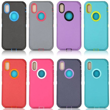 Cong Fee phone case Double layer and anti- shocked for iphone X XS 7 8 7S 8S