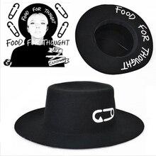 Мода, шерстяная Летняя женская и мужская крученая Скрепка из натурального фетра, шляпа от солнца, Trilby Gorra Toca Sombrero