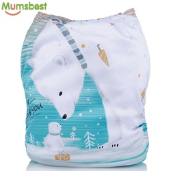 [Mumsbest] Baby Cloth Diaper 2018 Most Popular Digital Position Microfiber Insert Baby Nappies with Liners Unique Diaper Covers