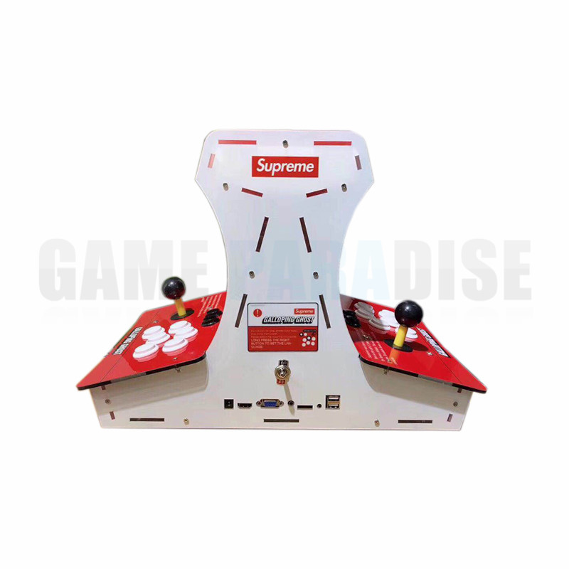 все цены на Mini bartop Galloping Ghost Arcade Game machine with 10 inch LCD Pandora's 1388 games in 1 VGA HDMI output онлайн