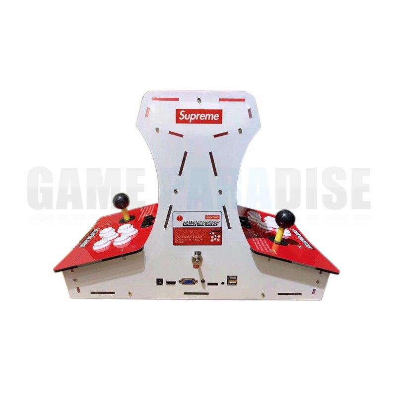 Mini  Bartop Supreme Galloping Ghost Arcade Game Machine  With 10 Inch LCD Pandora's 1388 Games In 1 VGA HDMI Output