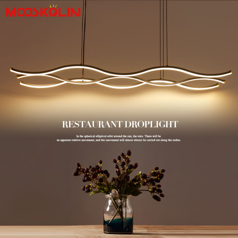 2017 New design L100cm Modern chandeliers for living room dining room acrylic aluminum body LED Lighting ceiling Lamp fixtures modern crystal chandelier led hanging lighting european style glass chandeliers light for living dining room restaurant decor